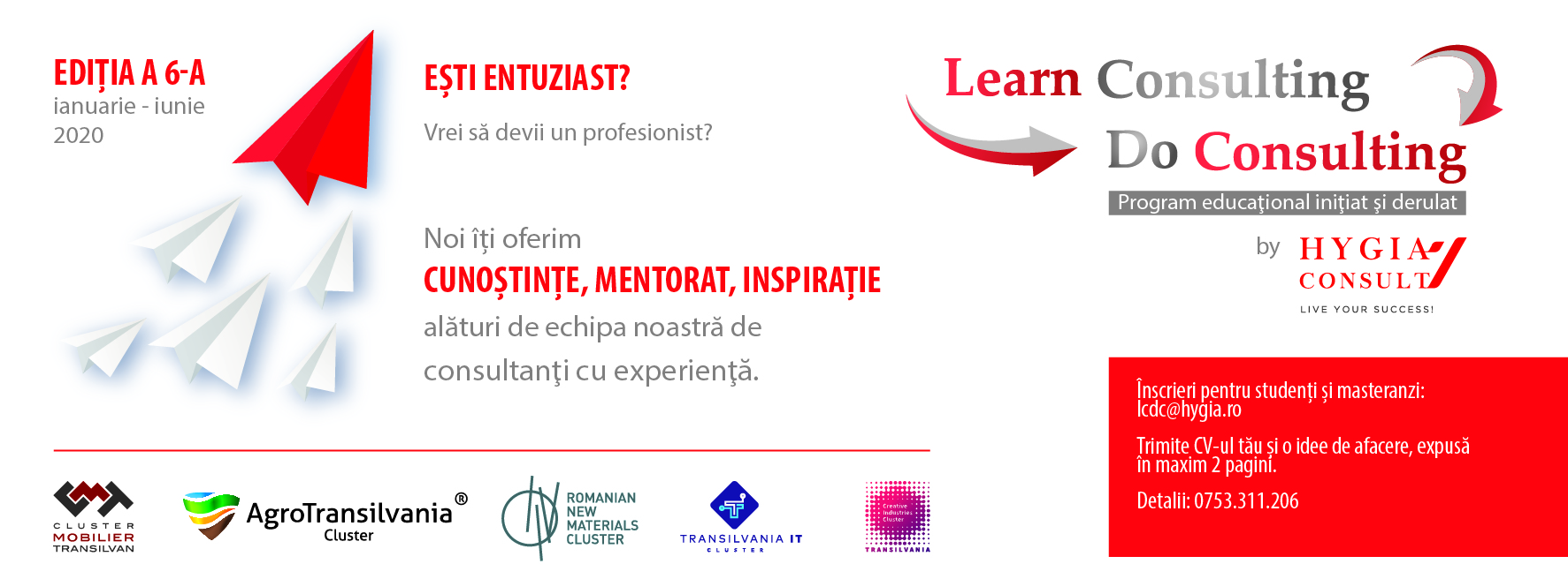 Learn Consulting, Do Consulting 2020 , editia a 6-a